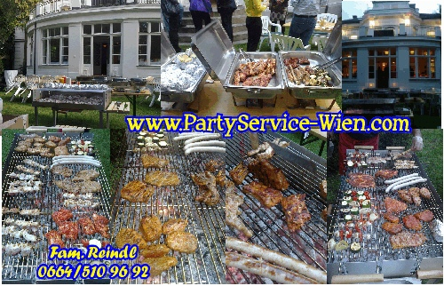 ECONOMY PartyService preiswert BBQ Grill Event Catering - BILLIG